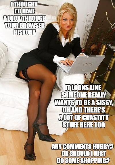 Chastity Captions