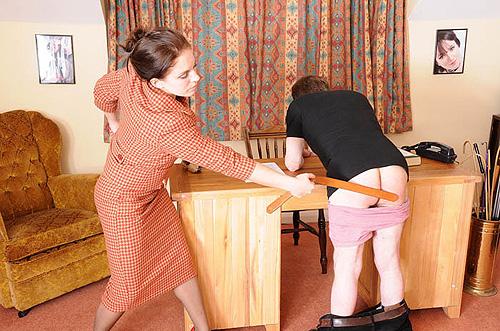 spanked-slave