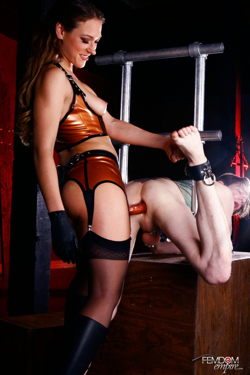 Female domination of female submissives