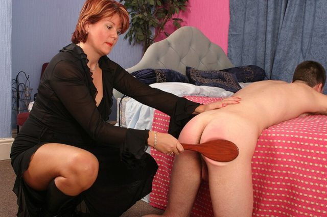 Sometimes anal punishment is necessary to discipline her