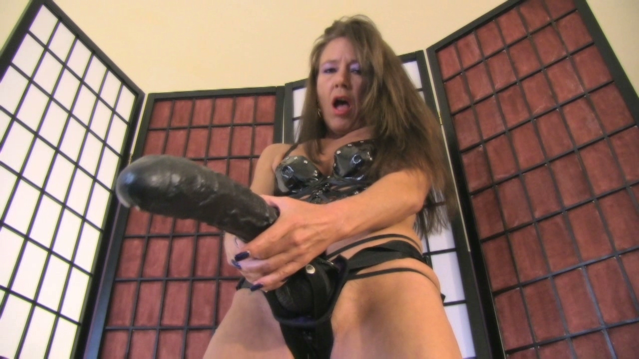 latex femdom fleshlight training vagina