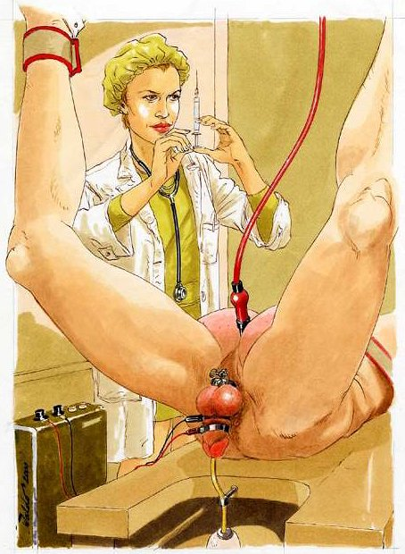Will female domination nurses stripping males how