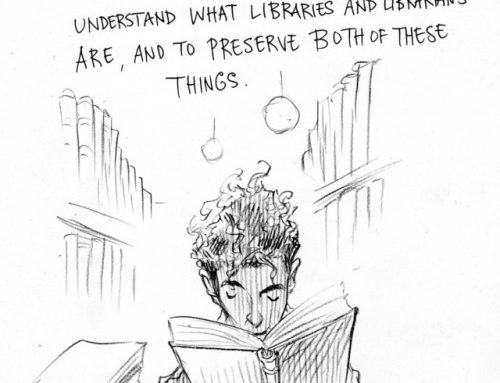 chrisriddellblog: Neil Gaiman on Libraries and Librarians.