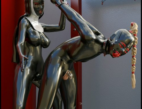 zazanimations: Hey Guys I know you loved the Latex Nun :) Heres…