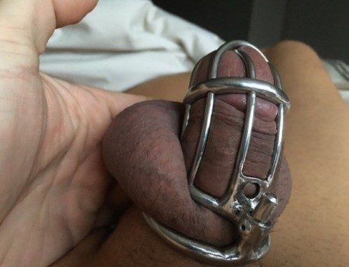 lockedboi: holy-trainer-locked:   richslildick: Day 5 of my…
