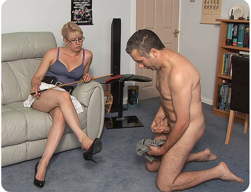 He has no idea how much worse his caning is going to feel…