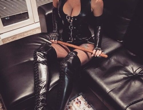 """alphafemdom:  MISTRESS DAMAZONIA  """"Kneel down and look at Me. I…"""