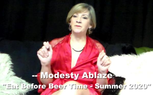 ModestyAblazeEatIntro 1